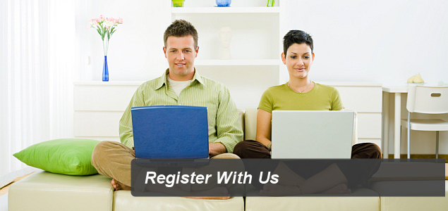 Register With Us
